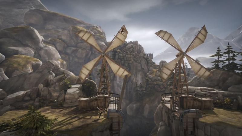 Brothers windmill