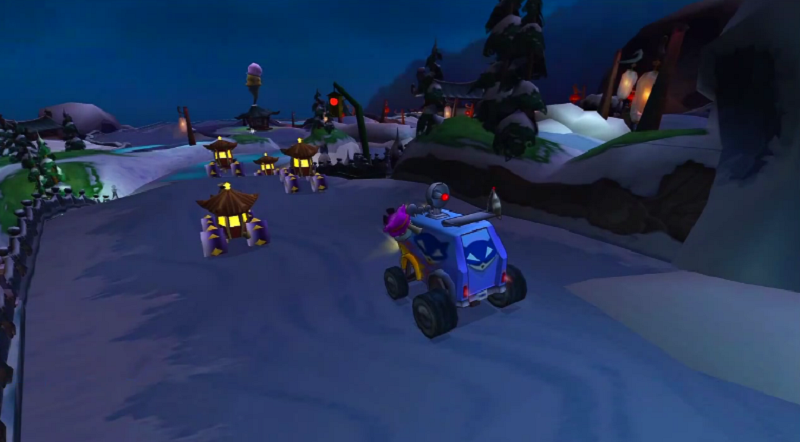 Sly Cooper Race
