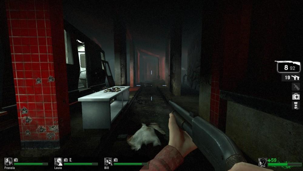 Left 4 Dead subway