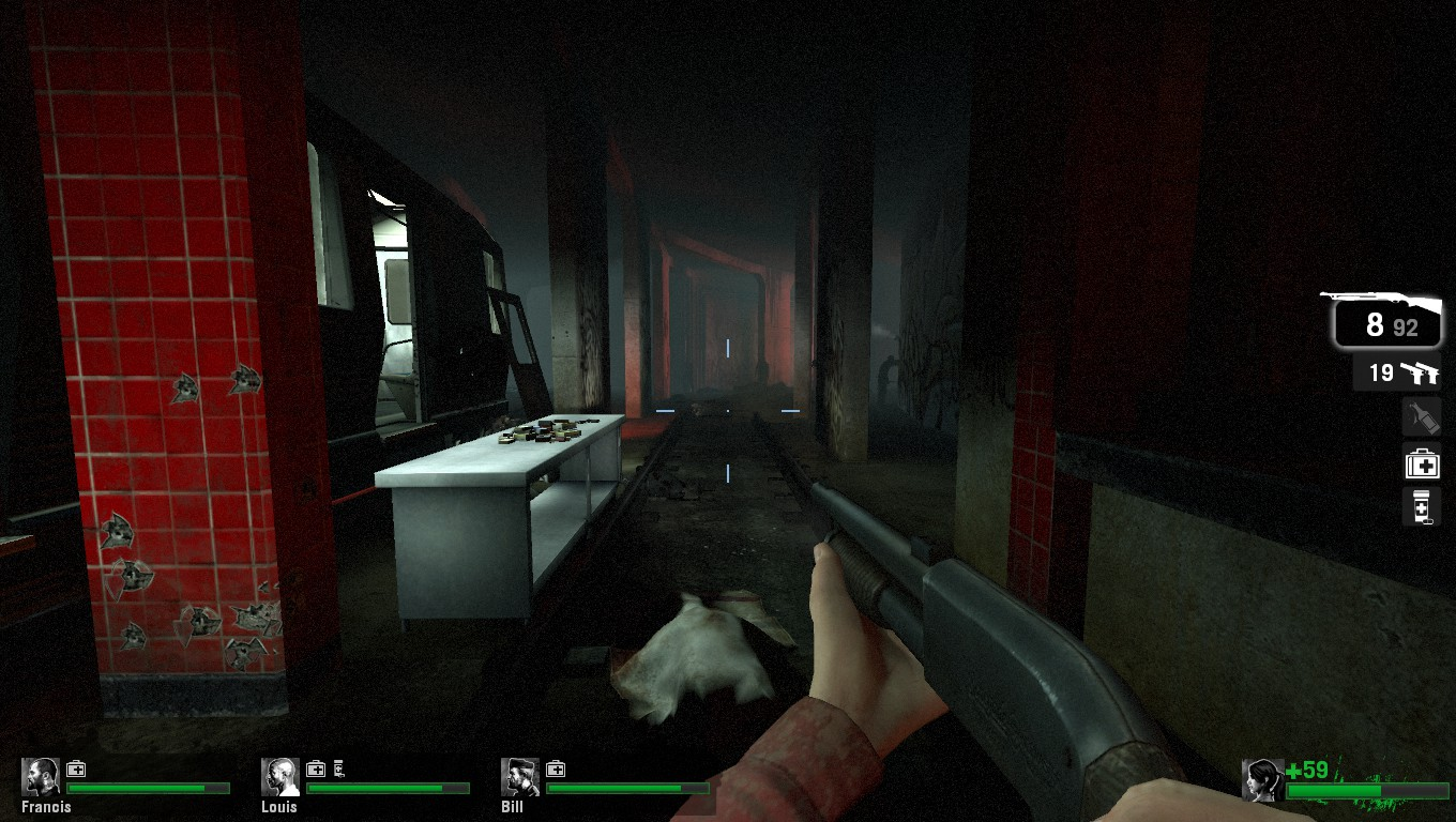 Left 4 Dead subway