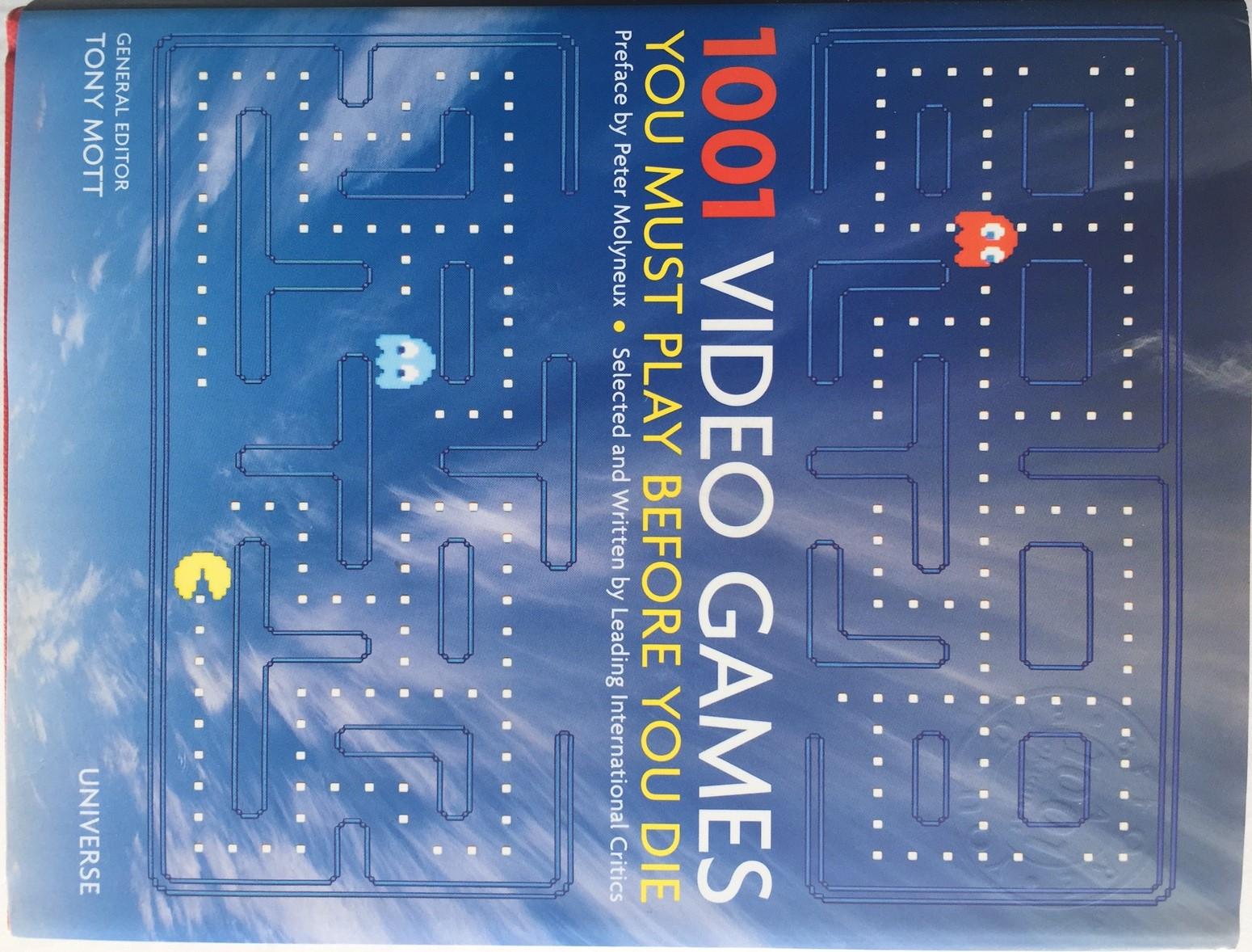 1001 Games To Play Before You Die List bonus material: 1001 video games you must play before you die