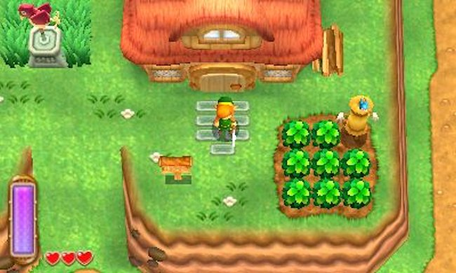 A Link between Worlds house