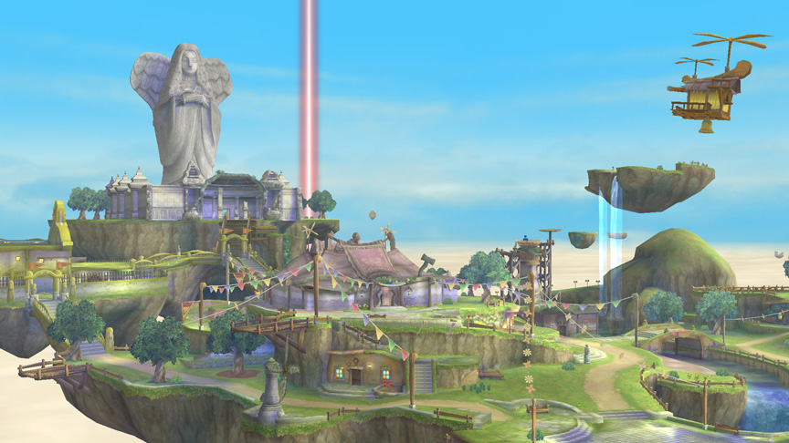 Skyward Sword Skyloft