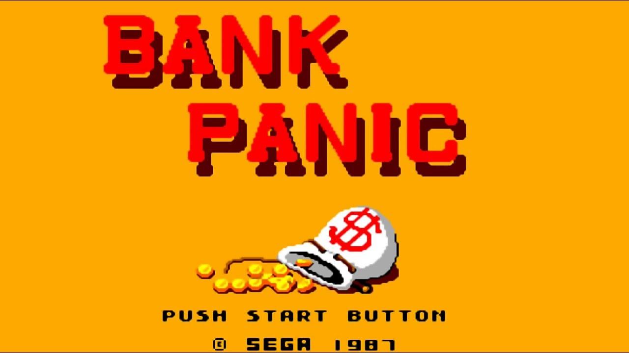 Bank Panic Sega