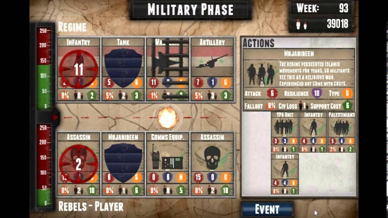 Endgame Syria combat