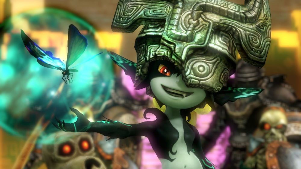 Midna butterfly