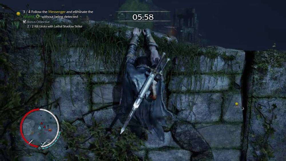 Shadow of Mordor Worm