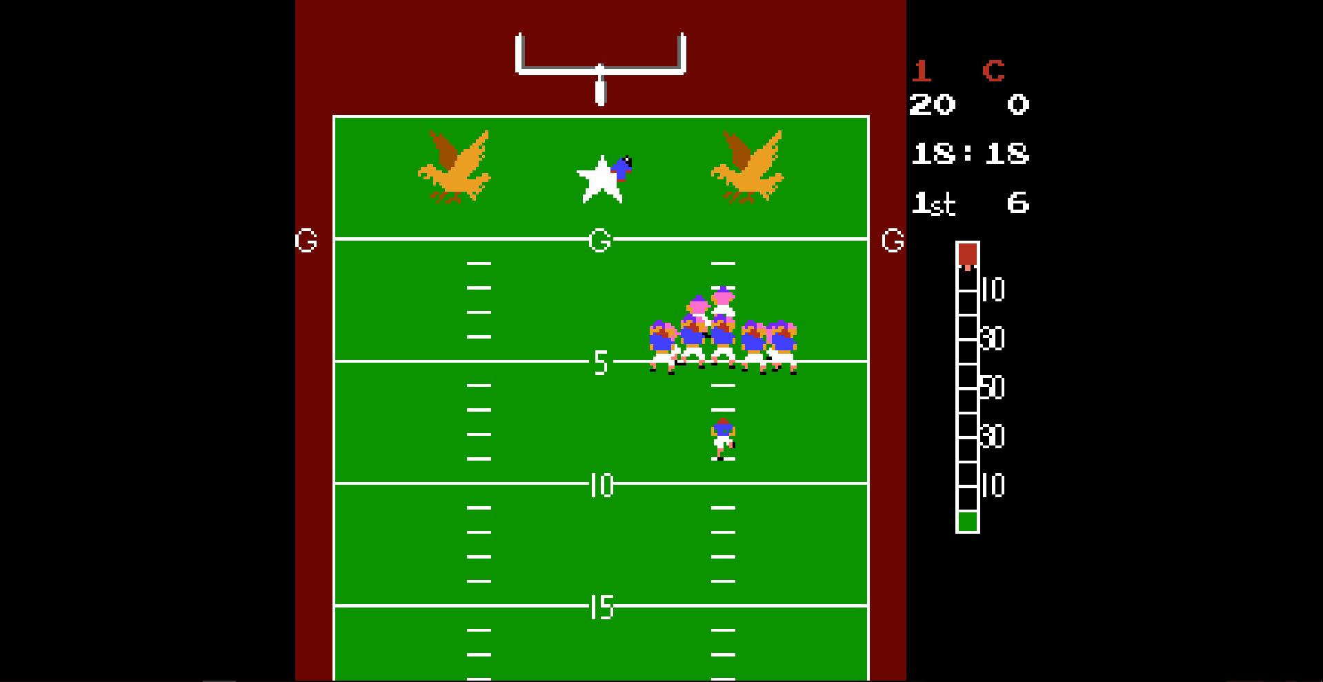 10-yard fight free shot