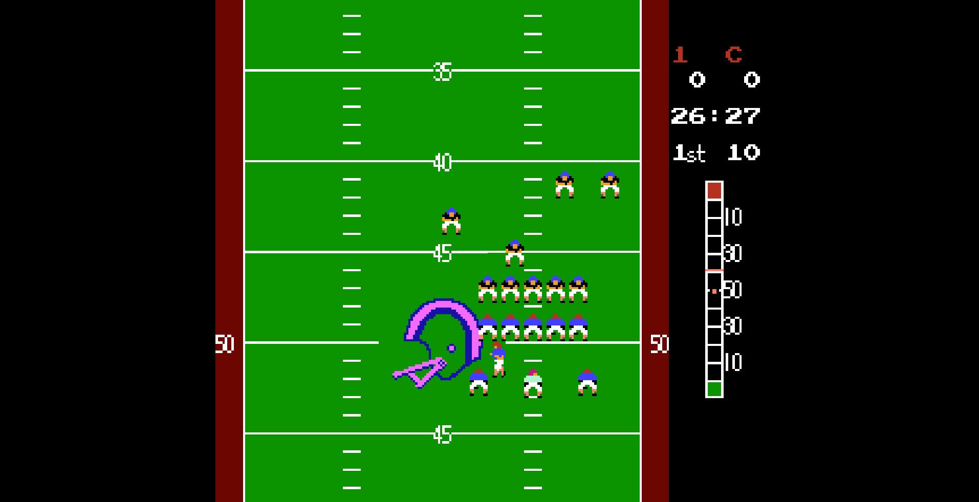 10-yard fight scrimmage